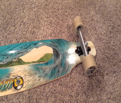 Sector 9 Blue Wave Lookout Longboard